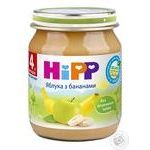 Baby puree HiPP Apples with pears without sugar without sugar for 4+ month old babies 125g