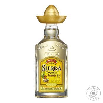 Sierra Reposado Tequila 38% 0.04l - buy, prices for CityMarket - photo 1