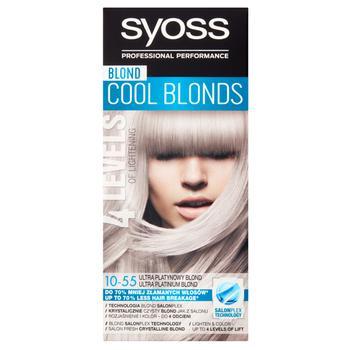 Осветлитель для волос SYOSS с технологией Salonplex 10-55 Ультраплатиновый блонд - купить, цены на Ашан - фото 6