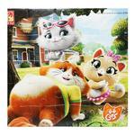 Игра настольная Vladi Toys Котята мягкие пазлы А4