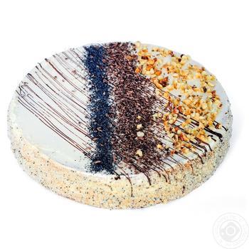 Торт БКК Три зустрічі 450г - купити, ціни на Ашан - фото 2