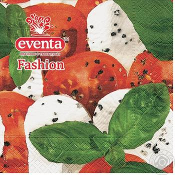Paper Design Eventa Fashion Napkins 20pc - buy, prices for Tavria V - image 1