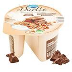 Йогурт Meran il Duetto з шоколадними кільцями 150г