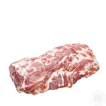 Ошеек свинины с костью