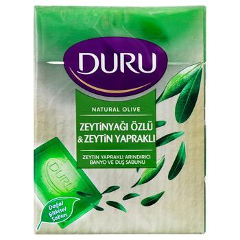 Мыло Duru с экстрактом оливкового масла 4х150г