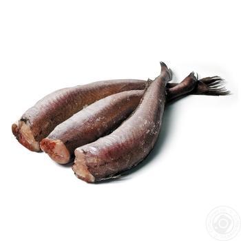 Хек тушка свежемороженая 350-500+г - купить, цены на Фуршет - фото 1