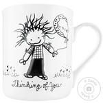 Enesco Thinking of You Ceramic Cup 400ml