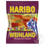 Candy Haribo Weinland jelly 100g flow-pack
