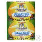 Масло сладкосливочное Национальный стандарт Экстра 82,5% 200г