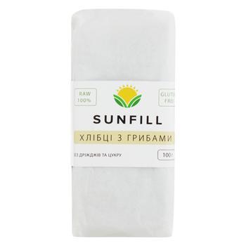 Хлібці Sunfill З грибами 100г - купити, ціни на CітіМаркет - фото 1