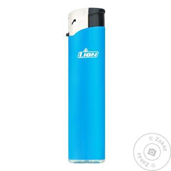 Зажигалка газовая Lion одноразовая - купить, цены на Novus - фото 1