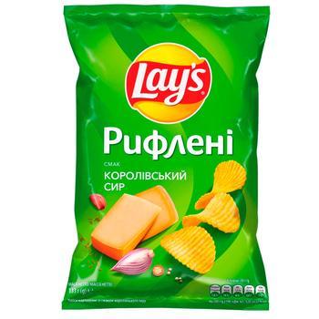 Чипсы Lay's со вкусом королевского сыра 120г