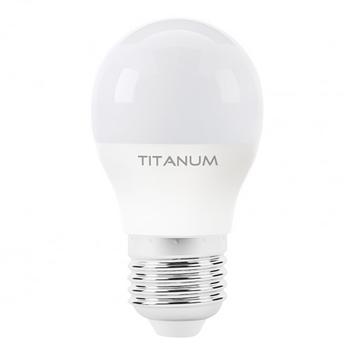 Лампа LED Titanum свічка жовта 6Вт E27