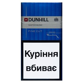 Цигарки Dunhill Fine Cut Master Blend - buy, prices for Novus - photo 1