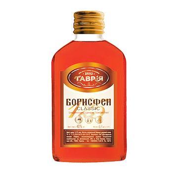 Бренди Таврия Борисфен Classic 40% 0.1л