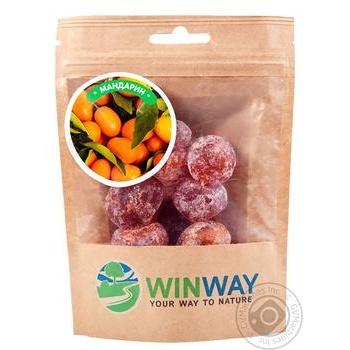 Мандарин сушеный Winway 100г - купить, цены на Novus - фото 1
