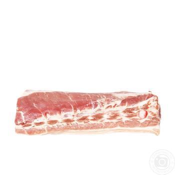 Грудинка свиная охлажденная - купить, цены на Фуршет - фото 1