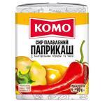 Сыр плавленный Комо Паприкаш с болгарским перцем и чили 90г