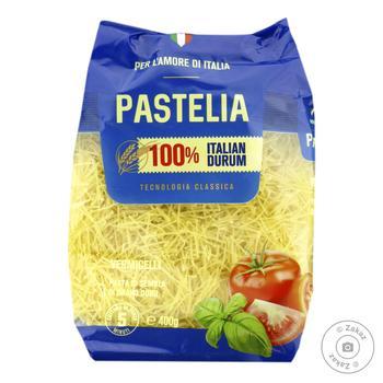 Макаронні вироби Pastelia вермішель коротка 400г - купити, ціни на Novus - фото 1