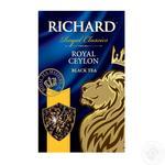 Tea Richard Royal ceylon black loose 90g