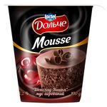 Мусс Дольче шоколад-вишня аэрированный 3,2% 100г