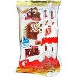Тістечко бісквітне Ferrero Kinder Maxi King Т3*12