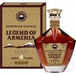 Коньяк Legend of Armenia 4 роки витримки 40% 0.5л