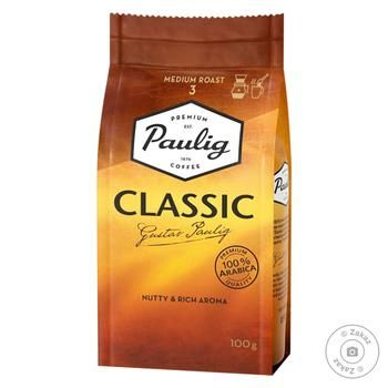 Paulig Classic Ground Coffee 100g - buy, prices for MegaMarket - image 1
