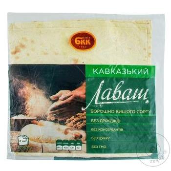 Лаваш БКК Кавказький 230г - купити, ціни на Метро - фото 1
