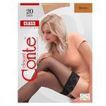 Чулки Conte Class Bronz 20 ден размер 1-2