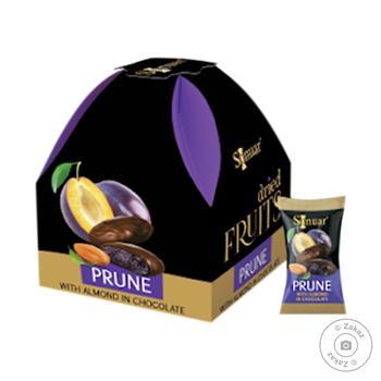 Цукерки Mark Sevouni чорнослив з мигдалем в шоколаді 150г - купити, ціни на Восторг - фото 1