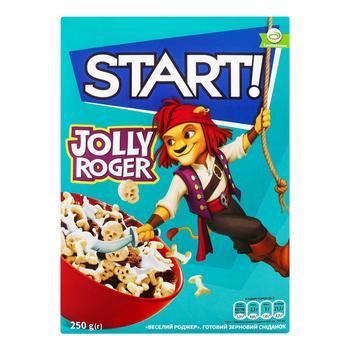 Сухий сніданок Start Веселий Роджер 250г - купити, ціни на CітіМаркет - фото 1