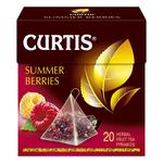 Чай фруктовый Curtis Summer Berries в пирамидках 20*1,7г