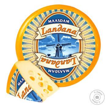 Сыр Landana Мааздам весовой 45%