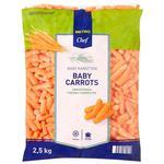 Морква молода Horeca Select 2500г