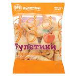 Печенье Кулиничи Рулетики с абрикосовым джемом 300г