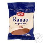Какао Мрия порошок 100г - купить, цены на Ашан - фото 1