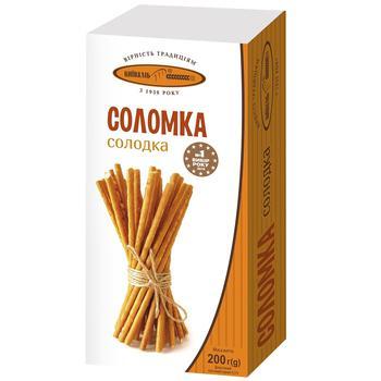 Соломка Київхліб солодка 200г