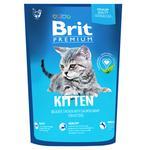 Brit Premium Chicken Dry Food For Kitten 1.5kg