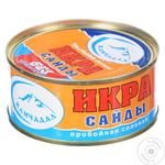 Ікра Сайди пробійна солена 80/100 г ж/б Камчадал