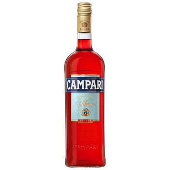 Настоянка гірка Campari 25% 1л - купити, ціни на Ашан - фото 1