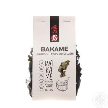 Водоросли Bakame JS сушеные 30г - купить, цены на МегаМаркет - фото 1