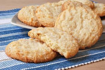 Пісочне печиво з ванільним цукром