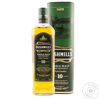 Bushmills Single Malt Irish Whiskey - buy, prices for Novus - image 1