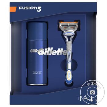 Скидка на Подарочный набор Gillette бритва и гель для бритья Ultra Sensitive 75мл