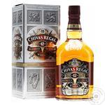 Виски Chivas Regal 12 лет 40% 0.7л