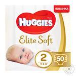 Подгузники Huggies Elite Soft детские 4-6кг 50шт