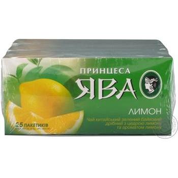 Чай зеленый Принцесса Ява лимон 25шт*1.5г - купить, цены на Восторг - фото 4