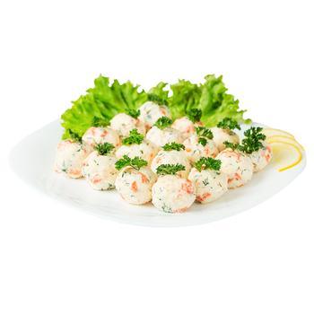 Салат закусочный сырный с семгой - купить, цены на Varus - фото 1