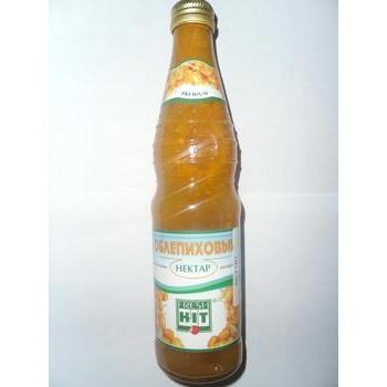 Нектар Фреш Хит облепиховый прямой отжим неосветленный стеклянная бутылка 330мл Россия
